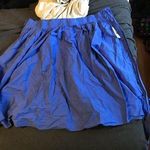 Eloquii Midi periwinkle skirt size 26 - NWT